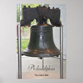 Philadelphias großes Bell-Plakat Poster