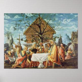 Philemon und Baucis, c.1500 Poster
