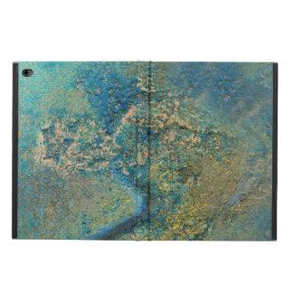Philip-Bogenschütze-Ozean-Blau-und Goldabstrakte