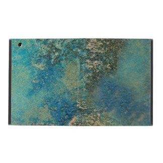 Philip-Bogenschütze-Ozean-Blau-und Goldabstrakte iPad Etui