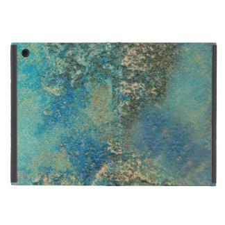 Philip-Bogenschütze-Ozean-Blau-und Goldabstrakte iPad Mini Schutzhüllen