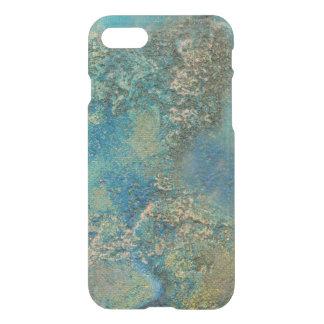 Philip-Bogenschütze-Ozean-Blau-und Goldabstrakte iPhone 7 Hülle