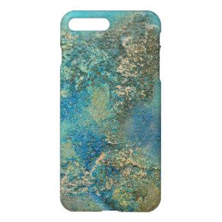 Philip-Bogenschütze-Ozean-Blau-und Goldabstrakte iPhone 7 Plus Hülle