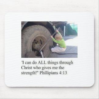 Philippians-4:13 Mousepad