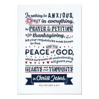 Philippians-4:6, 7 karte