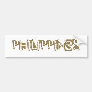Philippinen Autoaufkleber