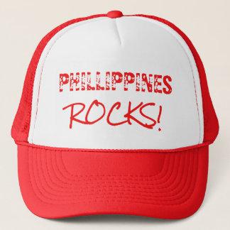PHILIPPINEN-Felsen-Wort-Grün Truckerkappe