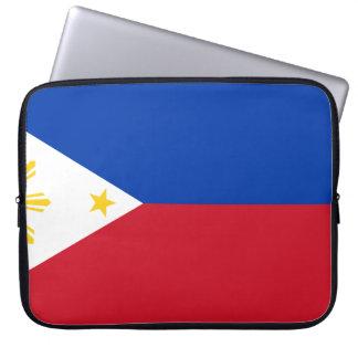 Philippinen-Flagge Laptop Sleeve