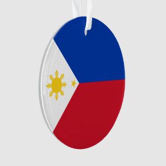 Philippinen-Flagge Ornament