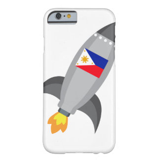 Philippinen-Flagge Rocket Barely There iPhone 6 Hülle
