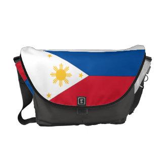 Philippinen-Flaggen-Bote-Tasche Kurier Taschen