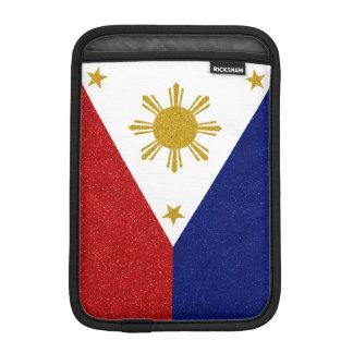 Philippinen-Glitter-Flagge iPad Mini Sleeve