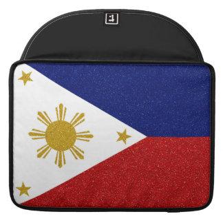 Philippinen-Glitter-Flagge Sleeve Für MacBooks