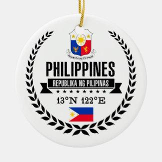 Philippinen Keramik Ornament