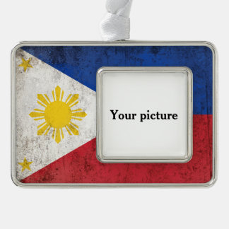 Philippinen Rahmen-Ornament Silber