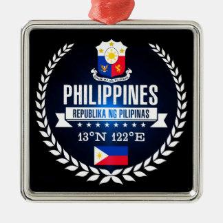 Philippinen Silbernes Ornament