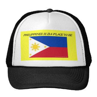 PHILIPPINEN SIND DA-PLATZ, ZUM ZU SEIN BASEBALLMÜTZE