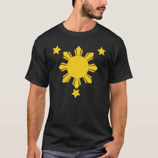 Philippinen sonnen sich und 3 Sterne T-Shirt