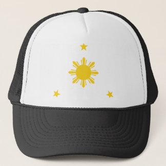 Philippinen Sun u. Sterne durch AiReal Kleid Truckerkappe