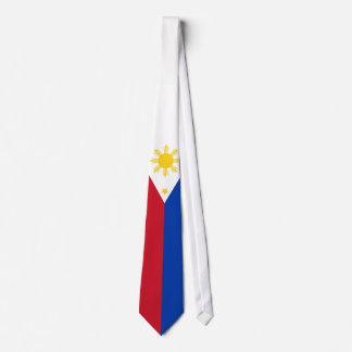 Philippinische Flagge Krawatte