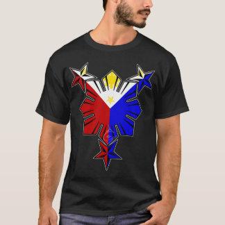 Philippinische Flagge Sun und Stern-Shirt T-Shirt