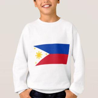 Philippinische Flagge Sweatshirt