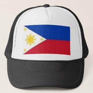 Philippinische Flagge Truckerkappe