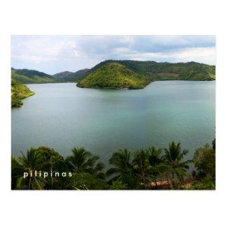 philippinische Insel Postkarte