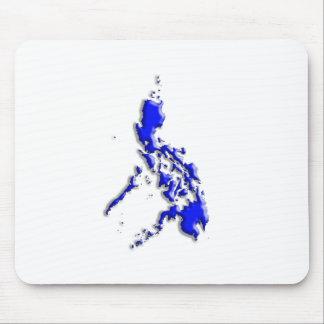 Philippinische Karte Mauspad