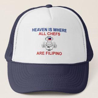 Philippinische Köche Truckerkappe