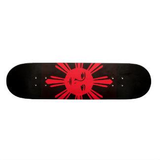 Philippinischer Sun der Freiheit 21,6 Cm Skateboard Deck