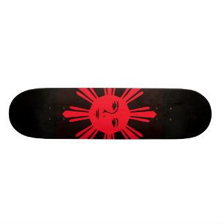 Philippinischer Sun der Freiheit Bedrucktes Skateboard