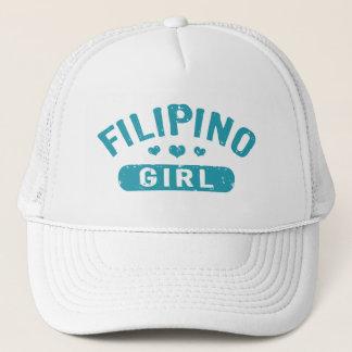 Philippinisches Mädchen Truckerkappe