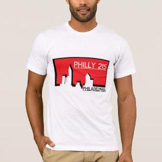 Philly 215 Repräsentant Ihre Stadt T-Shirt
