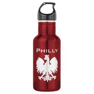 Philly Polska Wasser-Flasche Edelstahlflasche