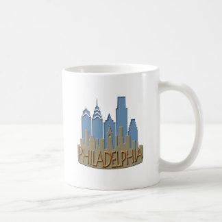 Philly Skyline newwave beachy Kaffeetasse