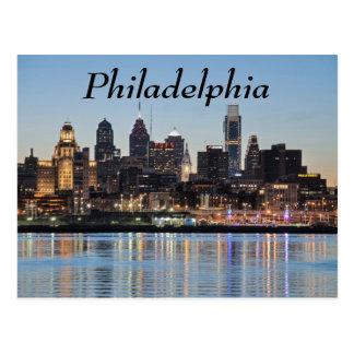 Philly Sonnenuntergang Postkarten