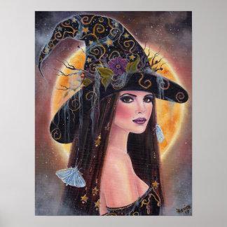 Philomena Halloween gespenstische Hexekunst durch Poster