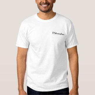 Philosoph Besticktes T-Shirt