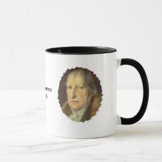 Philosoph Georg Hegel Tasse
