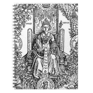 Philosophia durch Albrecht Durer Spiral Notizbücher