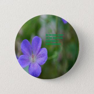 Philosophie Runder Button 5,1 Cm