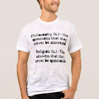 Philosophie und Religion T-Shirt