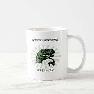 Philosoraptor Menopause Kaffeetasse