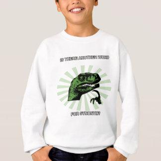 Philosoraptor Menopause Sweatshirt