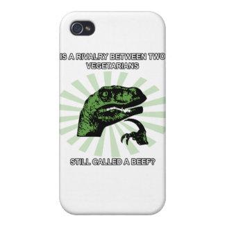 Philosoraptor Vegetarier Etui Fürs iPhone 4