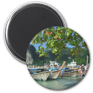 Phiphiisland_card Runder Magnet 5,7 Cm