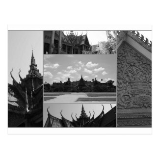 Phnom Penh, Kambodscha Postkarte