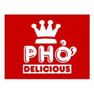 Pho König Delicious Postkarte