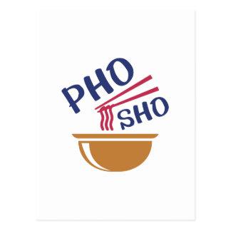 Pho Sho Postkarte